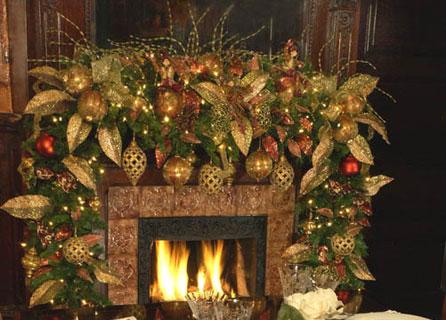 Lionheart interiors design portfolio - Interior holiday decorating services ...